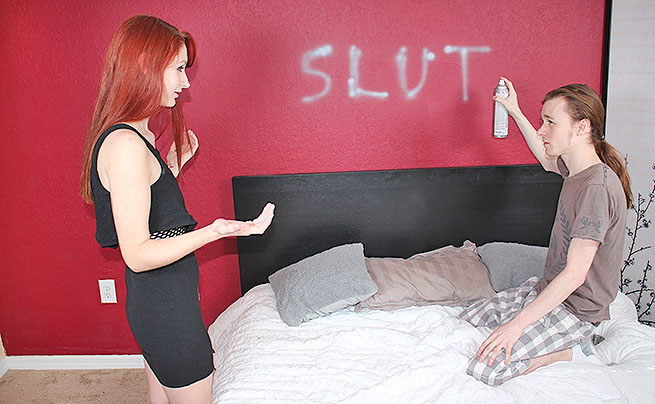 Redhead Step Sis Anally Penetrated