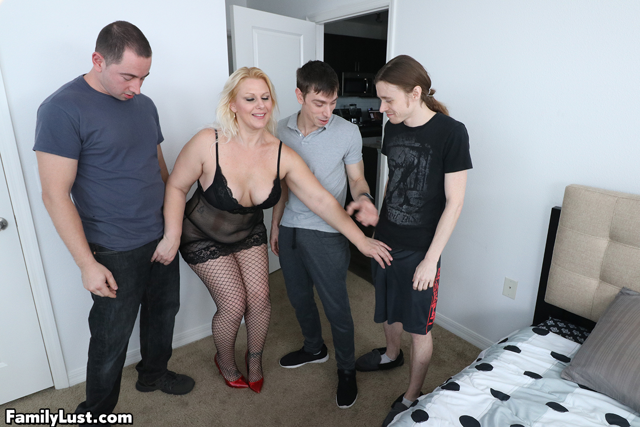 Sexy Mom Rides Sons Dick